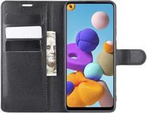 "Capa Capinha Carteira Couro Samsung Galaxy A21s Tela de 6.5"" - Danet"