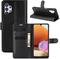 Capa Capinha Carteira Galaxy A32 4g 6.4 Case Couro Flip Topc - Danet