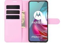 Capa Capinha Carteira Motorola Moto G10 Case Couro Flip Top - Danet