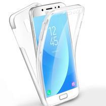 Capa Capinha Case 360º Acrílico e TPU Galaxy S8 Plus Transparente - HREBOS