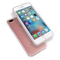 Capa Capinha Case 360º Slim TPU e Acrílico iPhone 6 6S Transparente - HREBOS