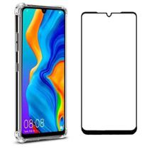 Capa Capinha Case Anti Impacto Huawei P30 Lite + Pelicula 3d - Hrebos