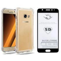 Capa Capinha Case Anti Impacto J5 Prime + Película 3d Preto - Samsung