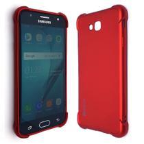 Capa Capinha Case Anti Impacto Samsung Galaxy J2 Prime Vermelha - Hrebos