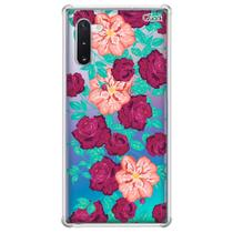 Capa capinha case anti shock galaxy note 10 1032 rosas 2 - Quarkcase
