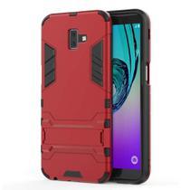 Capa Capinha Case Armadura Kickstand Samsung Galaxy J5 Prime Vermelha - Planeta Case