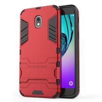 Capa Capinha Case Armadura Kickstand Samsung Galaxy J5 Pro Vermelha - Planeta Case