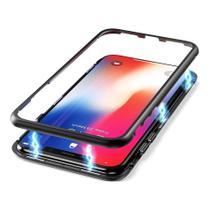 Capa Capinha Case de Proteção Magnética Anti Impacto Galaxy J4 Plus Preta - Hrebos