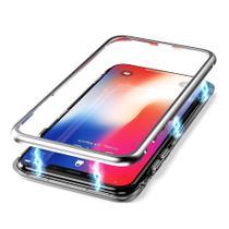 Capa Capinha Case de Proteção Magnética Samsung Galaxy S9 Prata - Hrebos