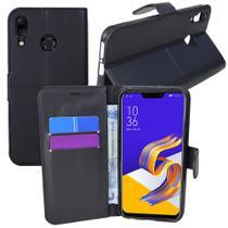 Capa Capinha Case Flip Carteira + Pelicula de Gel  Zenfone 5Z Ze620kl (Tela 6.2) - Cell In Power25