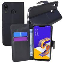 Capa Capinha Case Flip Carteira + Pelicula de vidro Zenfone 5Z Ze620kl (Tela 6.2) - Cell In Power25