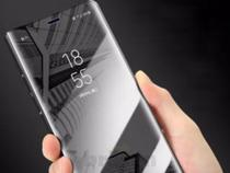 Capa Capinha Case Flip Espelhada Luxo Para Samsung Galaxy S8 Plus - GN