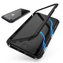 Capa Capinha Case Magnética Iphone 8 Plus + Película Frontal de Vidro - New Case