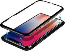 Capa Capinha Case Magnética para iPhone 11 + Película de Vidro Frontal - Pixmobi