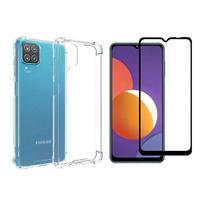 Capa Capinha Case + Pelicula Vidro 3d Samsung Galaxy M12 6.5 - Russo Shop
