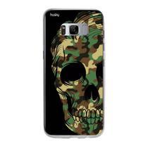 Capa Capinha Case Perosnalizada Samsung Galaxy S8 Caveira Militar - Husky