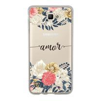 Capa Capinha Case Personalizada Samsung Galaxy J5 Prime Amor - Husky