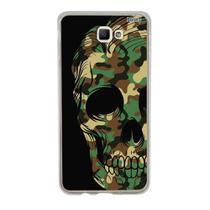 Capa Capinha Case Personalizada Samsung Galaxy J5 Prime Caveira Militar - Husky