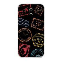 Capa Capinha Case Personalizada Samsung Galaxy J5 Pro Viajando - Husky