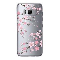 Capa Capinha Case Personalizada Samsung Galaxy S8 Cerejeira - Husky