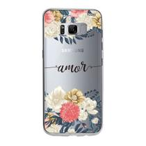 Capa Capinha Case Personalizada Samsung Galaxy S8 Plus Amor - Husky