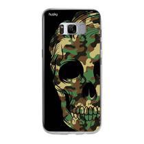 Capa Capinha Case Personalizada Samsung Galaxy S8 Plus Caveira Militar - Husky