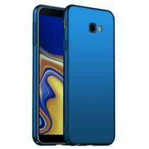 Capa Capinha Case Rígida Fosca Premium Samsung Galaxy J4 Plus Azul - Planeta Case