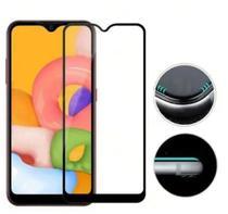 Capa Capinha Case Samsung Galaxy A01 Core Anti Shock + Película 3D 5D 9D Blindada Cobre 100% Da Tela Borda Resistente - Eletrodu