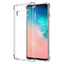 Capa Capinha Case Silicone Anti Impacto Samsung Galaxy S10 Transparente - Planeta Case