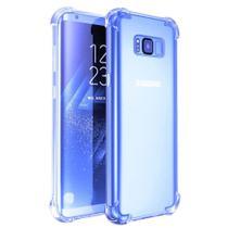 Capa Capinha Case Silicone Anti Impacto Samsung Galaxy S8 Azul - Planeta Case