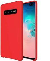 Capa Capinha Case Silicone Aveludada Samsung Galaxy S10+plus -