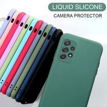 Capa Capinha Case Silicone Protege Camera Anti Impacto Galaxy A72 - M5