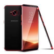 Capa Capinha Case Silicone Samsung Galaxy S8 Borda Vermelha - Planeta Case