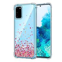 Capa Capinha Chuva de Corações Heart Samsung Galaxy S20 - Fit It