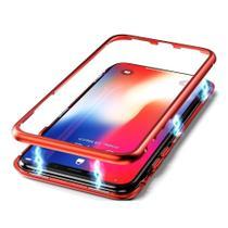 Capa Capinha de Proteção Magnética Anti Impacto Samsung Galaxy S9 Plus Vermelha - Hrebos