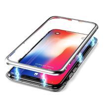 Capa Capinha de Proteção Magnética Samsung Galaxy S9 Plus Prata - Hrebos