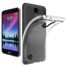 Capa (Capinha) em silicone transparente para  LG K4 2017 (K4 NOVO) CAPINHA EM SILICONE - ENVIO IMEDIATO - POSTAGEM RÁPID - Premium