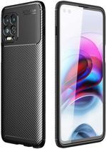 Capa Capinha Fibra Anti Impacto Motorola Moto G100 Tela 6.7 - Danet