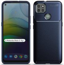 Capa Capinha Fibra Carbono Anti Impacto Motorola Moto G 5G - Danet