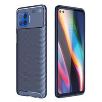 Capa Capinha Fibra Case Anti Impacto Motorola Moto G 5G Plus - Danet