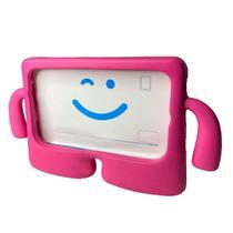 Capa Capinha Infantil Iguy Tablet Samsung Galaxy TAB E T560 T561 Tela 9.6 Anti Queda Alça + Pelicula - Extreme Cover