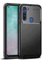 Capa Capinha Motorola Moto G8 Fibra De Carbono Anti Queda - Danet