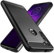 Capa Capinha Motorola Moto G8 Power Fibra De Carbono - Danet