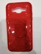 Capa Capinha para sumsung Galaxy j5 J500 tela 5.0 Glitter Brilhante Diversas Cores - Sem
