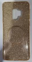 Capa Capinha para sumsung Galaxy s9 plus tela 6.2 Glitter Brilhante Diversas Cores - Sem