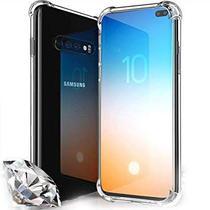 Capa Capinha Samsung Galaxy S10 Plus Anti Choque + Película de Gel - Hrebos