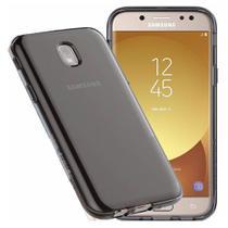 Capa Capinha Silicone Case Fumê Samsung Galaxy J5 Pro + Película - Hrebos