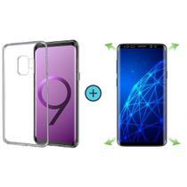 Capa Capinha Tpu Básica Samsung Galaxy S9 Plus (S9+) + Película de Gel Cobre 100% Tela - Encapar