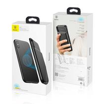 Capa Carregadora Wireles Iphone X Xs Baseus  5000mah - Preto