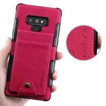 Capa Carteira 3.0 Samsung Galaxy S10 Plus - Vermelho - Oem